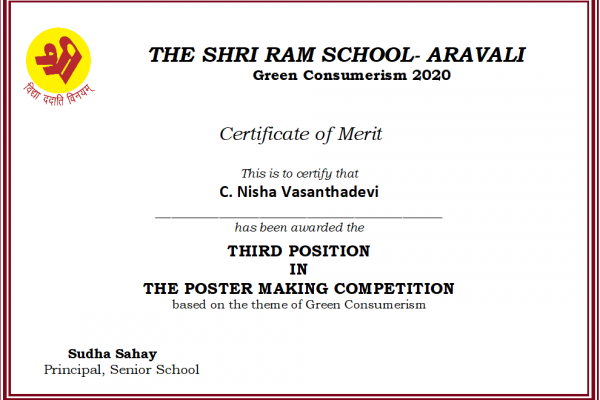C. Nisha Vasanthadevi_Green Consumerism 2020