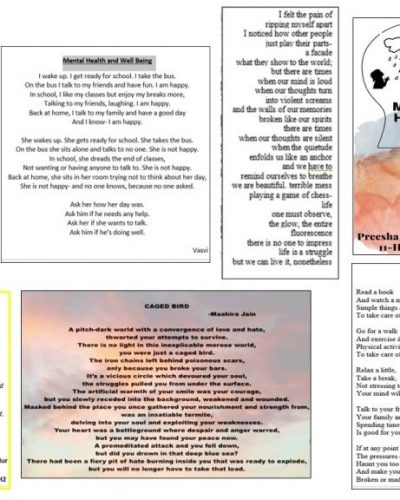 Poems collage