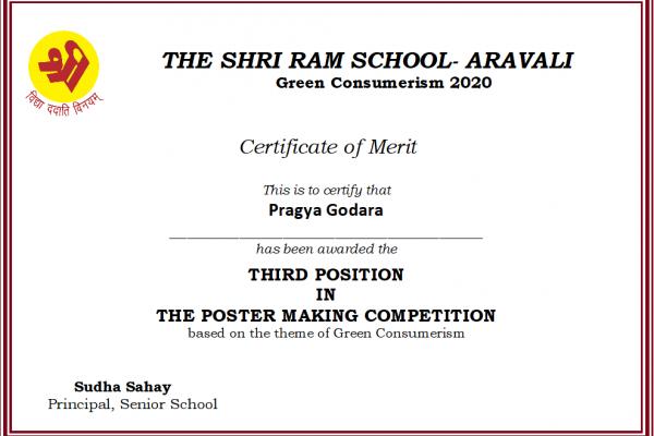 Pragya Godara_Green Consumerism 2020